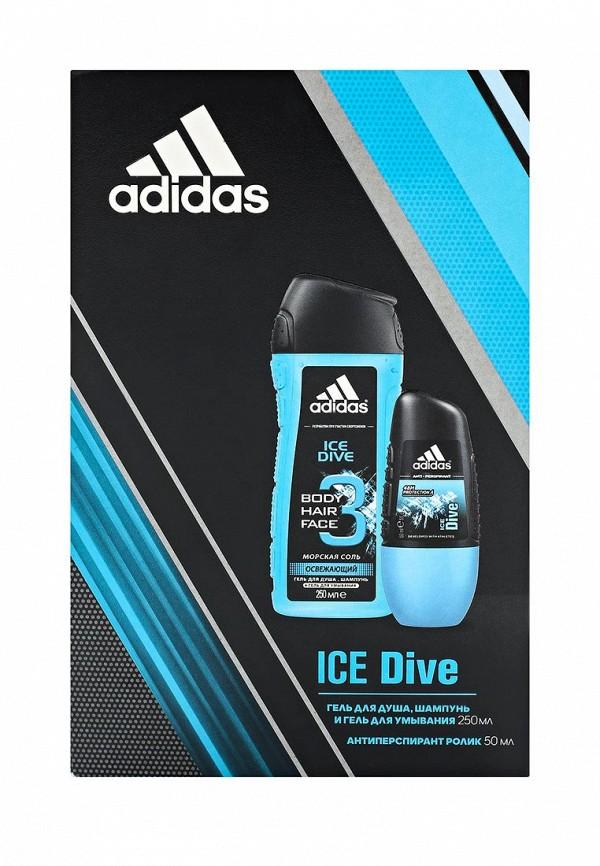 Набор для душа adidas Ice dive антиперспирант ролик 50 мл + гель 250 мл