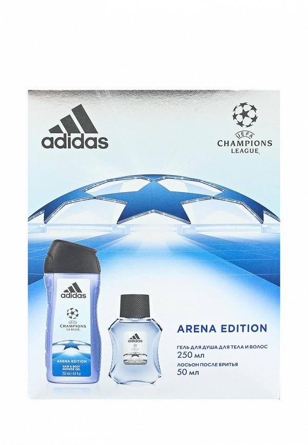 Набор для душа adidas Uefa arena edition лосьон 50 мл + гель 250 мл