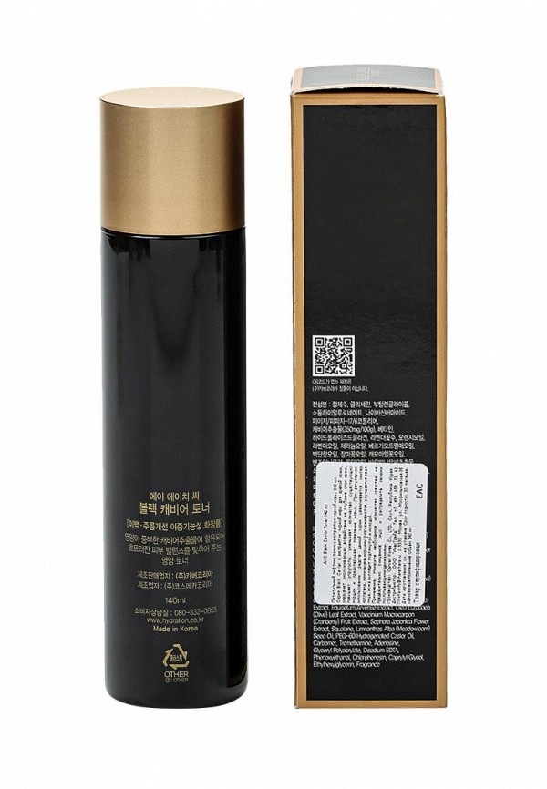 Тоник A.H.C Питательный для лица Black Caviar, 140 мл