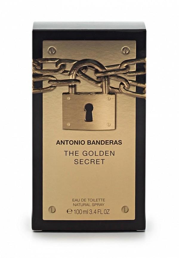Туалетная вода Antonio Banderas Golden Secret Men 100 мл