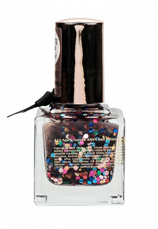 Лак для ногтей Anny для ногтей тон 198.90 разноцветные блестки-конфетти