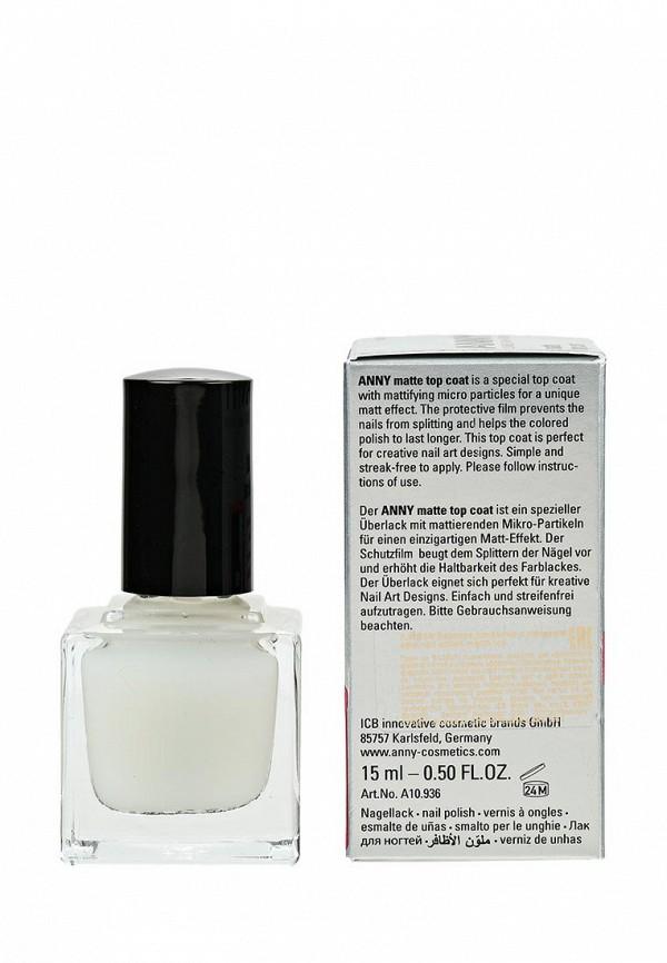 Лак для ногтей Anny с  матовым эффектом nail polish matte top coat