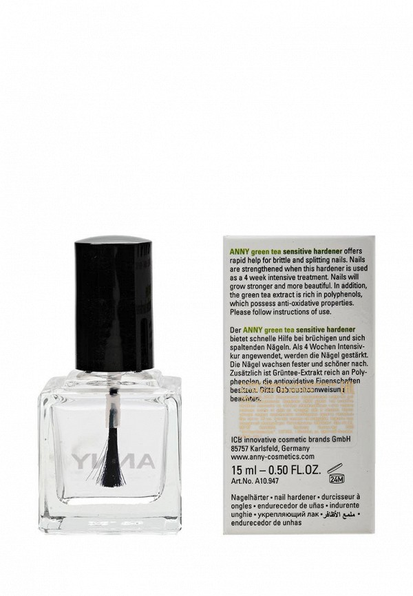 Средство Anny для укрепления ногтей green tea sensitive hardener