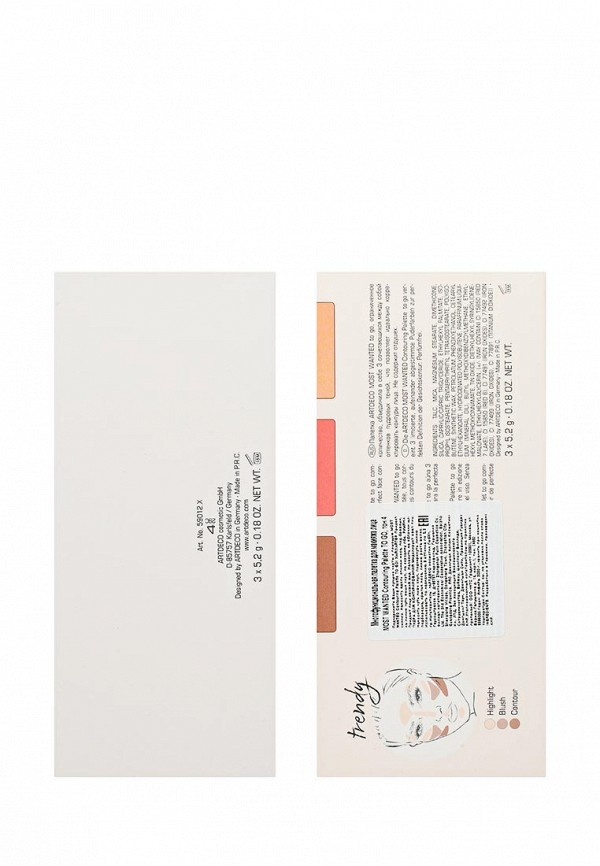 Палетка для лица Artdeco MOST WANTED Contouring Palette TO GO 4, 3*5,2г.