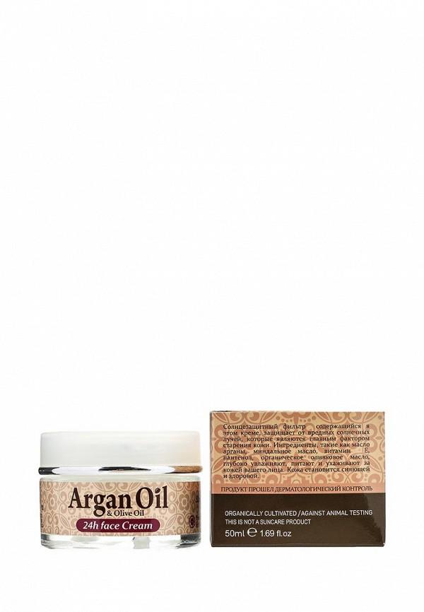 Крем Argan Oil для лица уход 24 ч для нормальной и сухой кожи, 50 мл