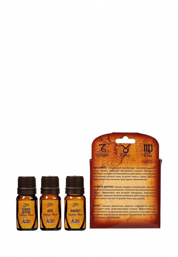 Масло для тела ARS Стихия земли (чайное дерево, эвкалипт, мята), 3шт * 10 мл