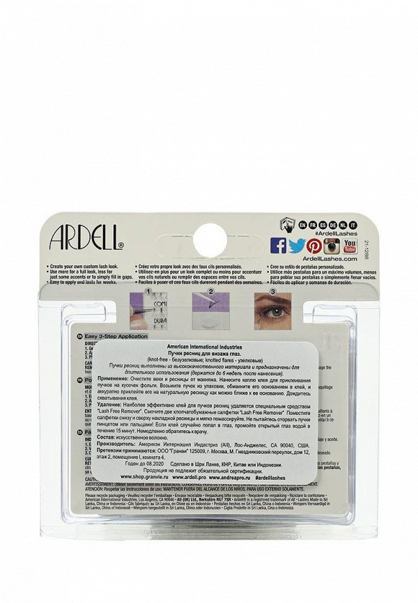 Пучки ресниц Ardell средние черные