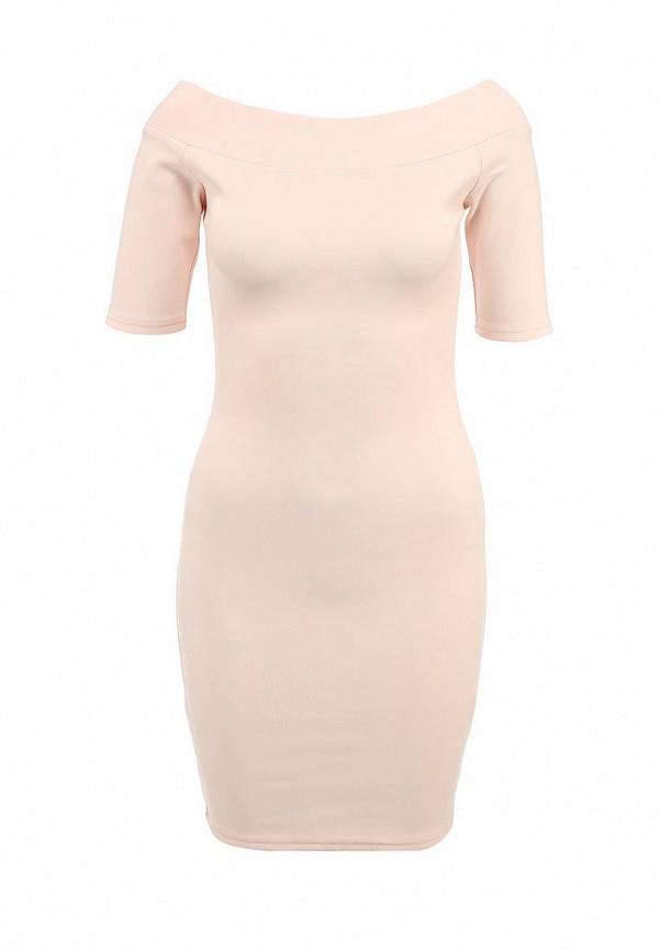 Приталенное платье с открытыми плечами Befree