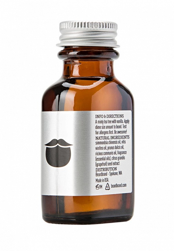 Масло для бритья Beardbrand Tea Tree Beard Oil