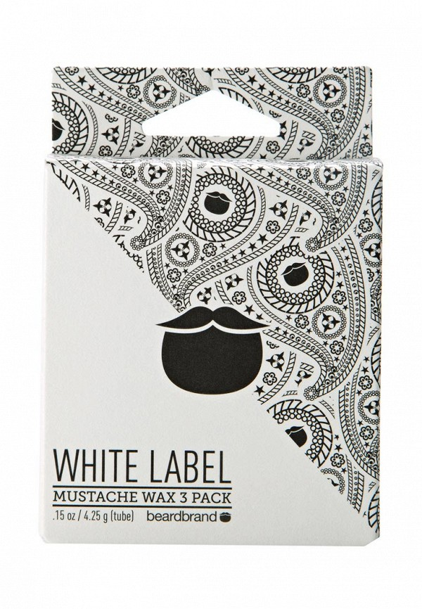 Воск для укладки Beardbrand Набор для усов и бороды White Label Mustache Wax 3 Pack