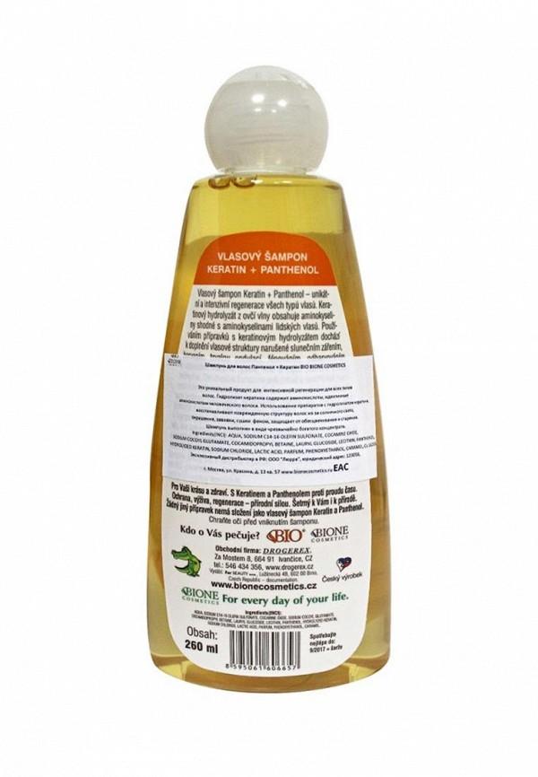 Шампунь Bione Cosmetics для волос пантенол+Кератин