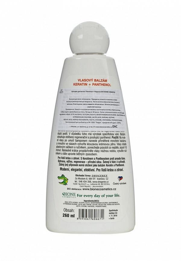 Бальзам Bione Cosmetics для волос ПАНТЕНОЛ + Кератин