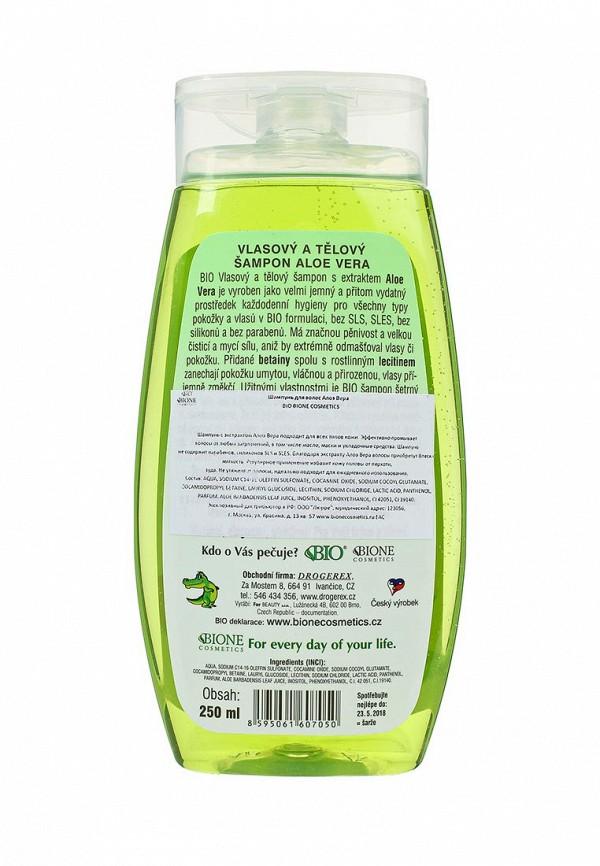 Шампунь Bione Cosmetics для волос Алоэ Вера