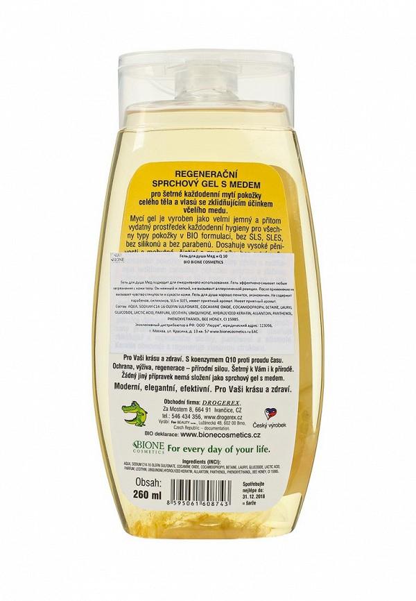 Гель Bione Cosmetics для душа Мед +Q 10
