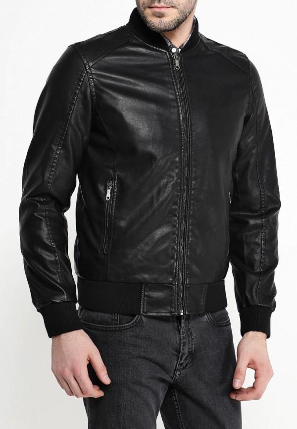 Куртка кожаная B.Men B020-W52