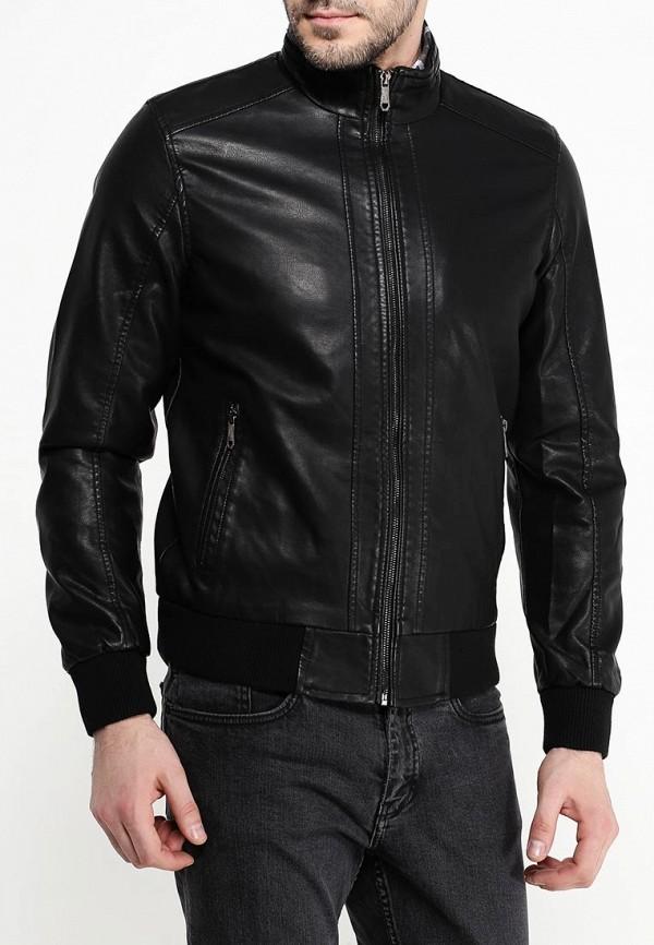 Куртка кожаная B.Men B020-W55