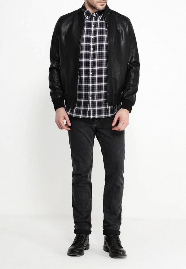 Куртка кожаная B.Men B020-W55 Фото 2