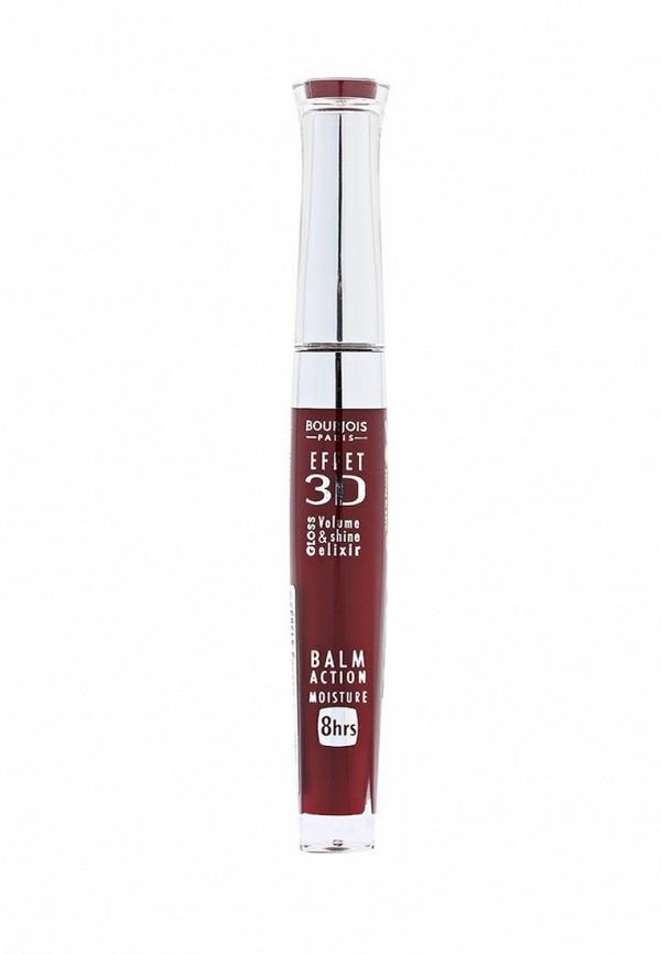 Блеск Bourjois для Губ Effet 3D 58 тон rouge cinematic