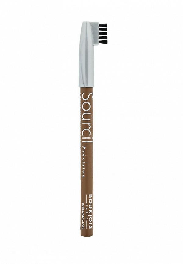 Карандаш Bourjois контурный для бровей sourcil precision тон 06 blond clair
