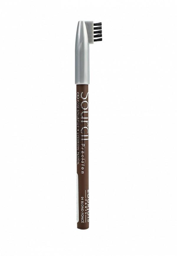 Карандаш Bourjois Контурный для бровей sourcil precision 04 тон