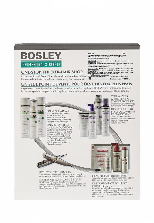 Набор для ухода за волосами Bosley Зелёная для нормальных и тонких неокрашенных волос