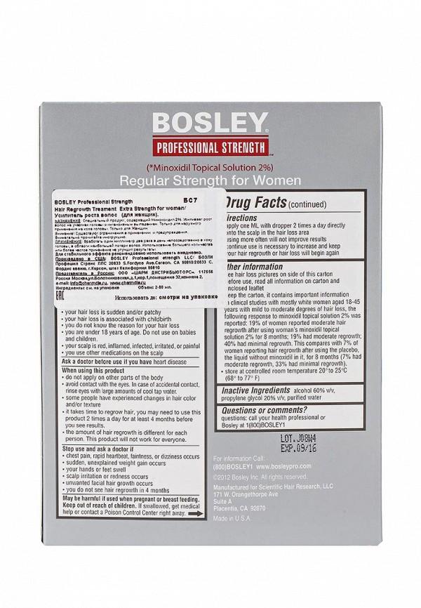 Усилитель роста Bosley волос для женщин, 2 шт по 60 мл