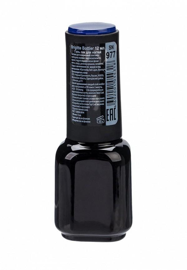 Гель-лак для ногтей Brigitte Bottier Shell Nails тон 977 темный синий (упаковка 3 шт)