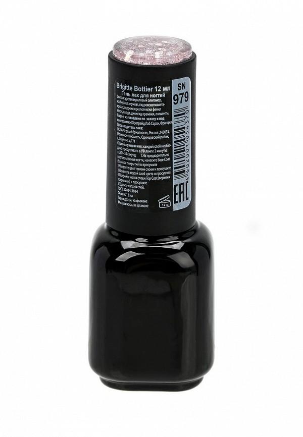 Гель-лак для ногтей Brigitte Bottier Shell Nails тон 979 нежно-розовый с большими блестками (упаковка 3 шт)