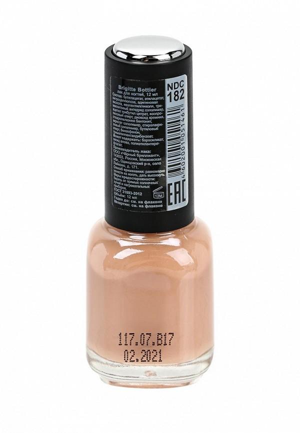 Лак для ногтей Brigitte Bottier Nude Collection, тон 182