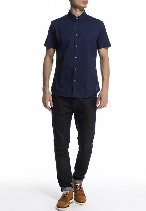Рубашка с коротким рукавом Burton Menswear London 22D04GNVY: изображение 3