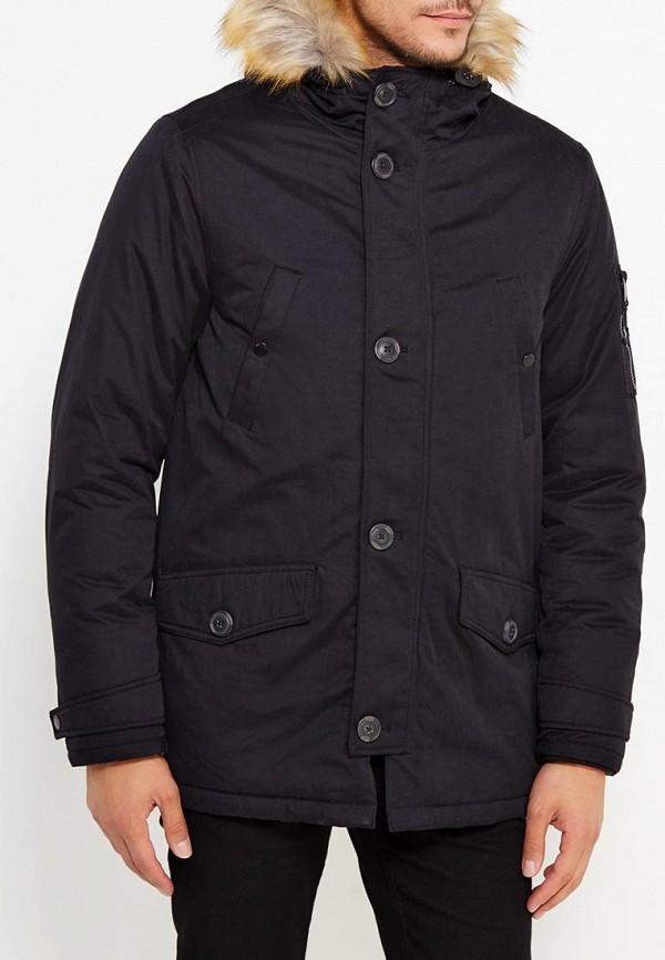 Куртка утепленная Burton Menswear London 06P02LBLK