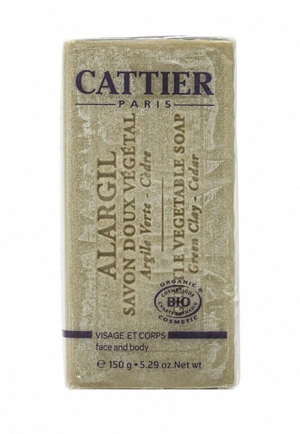 Мыло Cattier мягкое натуральное с зеленой глиной, 150 гр