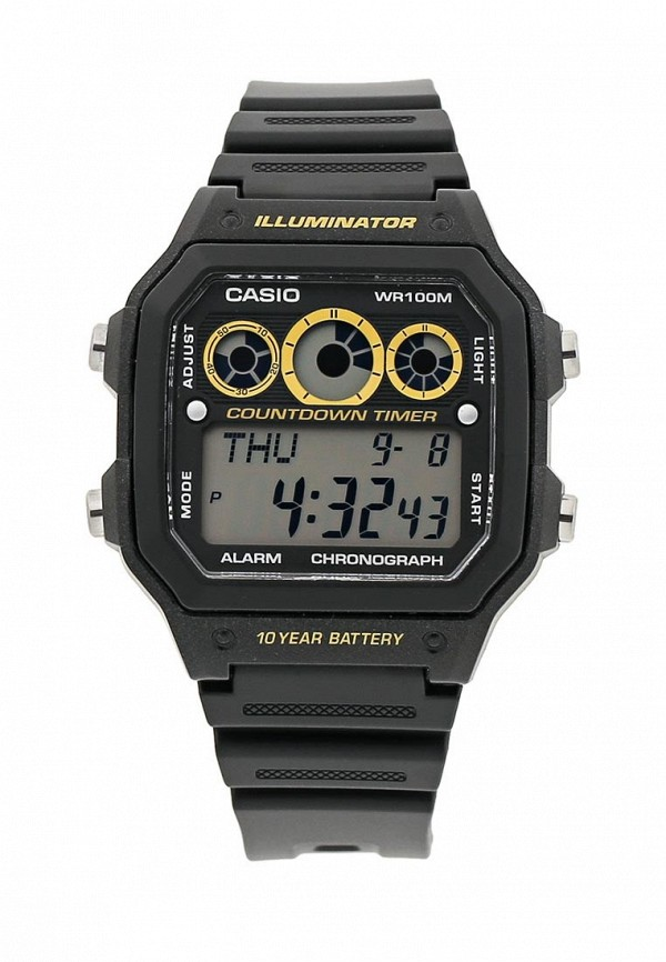 Часы Casio AE-1300WH-1A: изображение 9