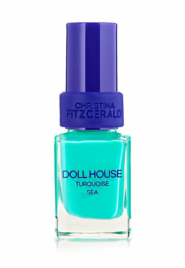 Лак для ногтей Christina Fitzgerald Doll House Морская бирюза