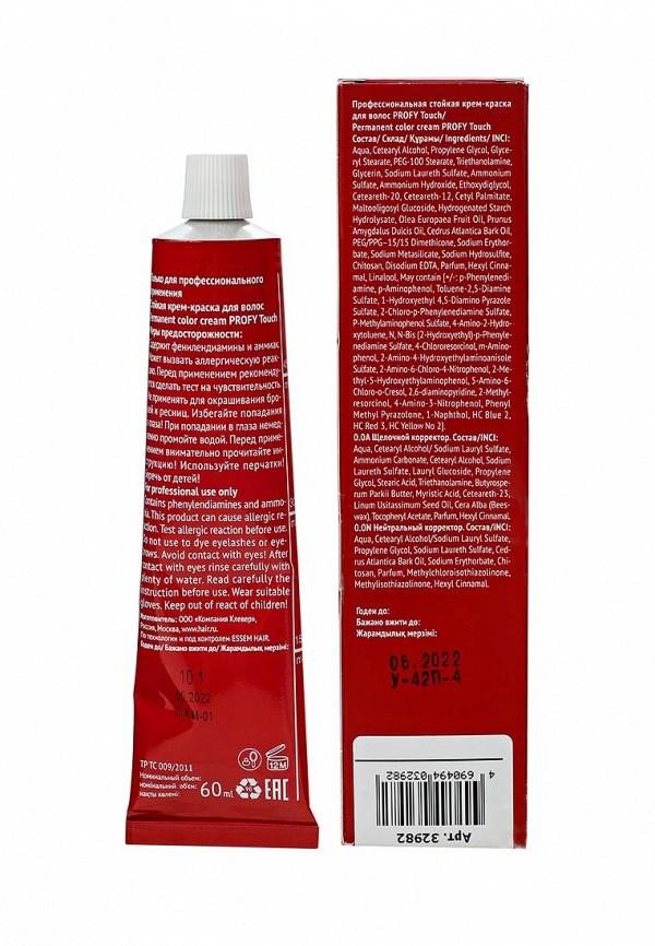 Краска для волос Concept 10.1 Очень светлый платиновый  (Platinum Ultra Light Blond) 2016, 60 мл