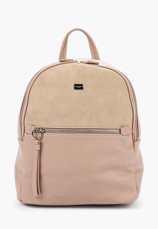 Рюкзак David Jones 5700-2_розовый