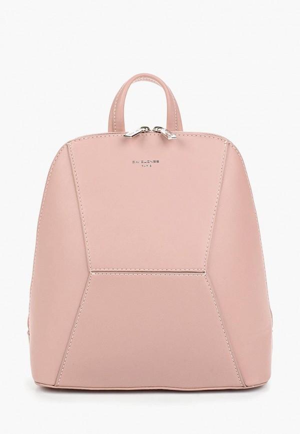 Рюкзак David Jones 5709-2_розовый