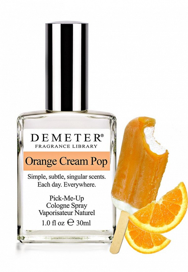 Туалетная вода Demeter Fragrance Library Апельсиновое эскимо (Orange Cream Pop) 30 мл