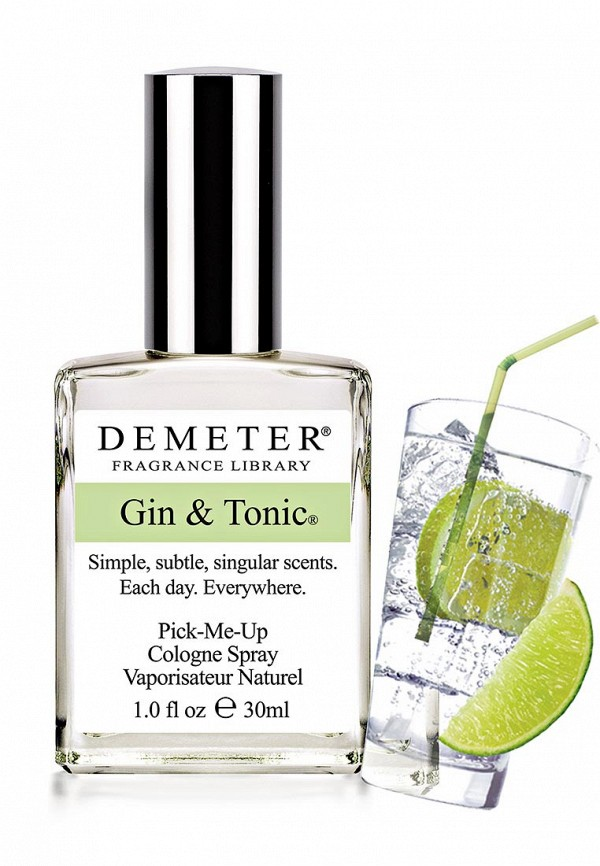 Туалетная вода Demeter Fragrance Library Джин-тоник (Gin  tonic) 30 мл