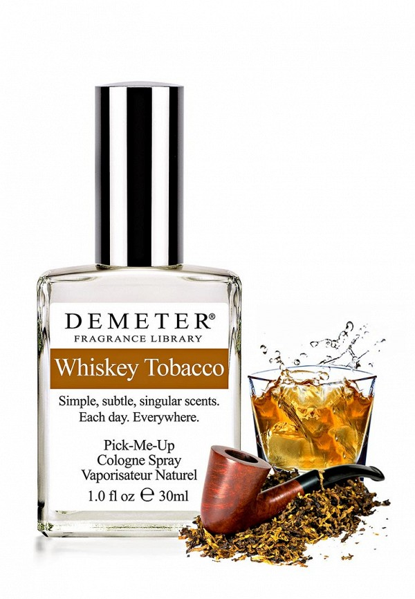 Туалетная вода Demeter Fragrance Library Виски и табак (whiskey tobacco) 30 мл