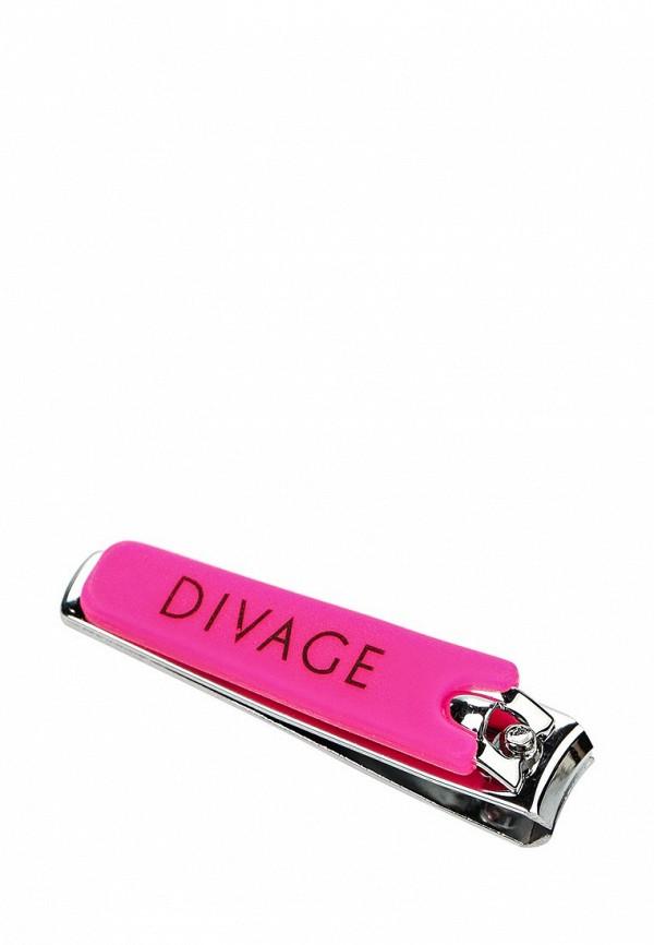 Щипчики для ногтей Divage Dolly Collection для маникюра розовые