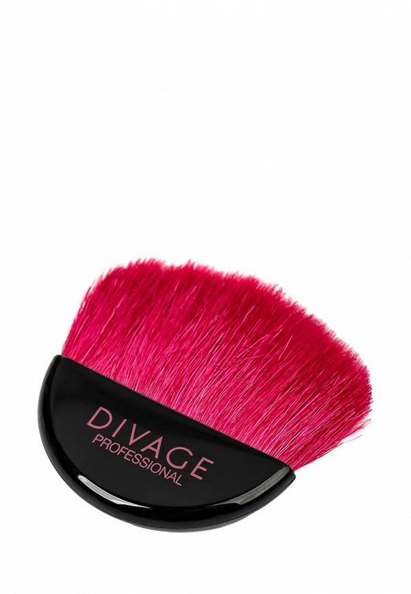 Кисть для лица Divage Professional Line для румян из натуральной щетины