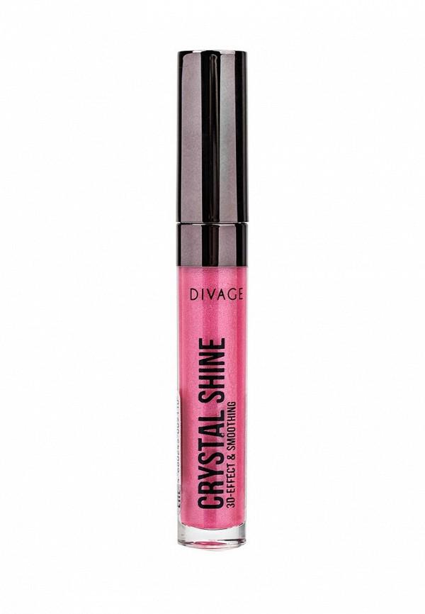Блеск Divage Для Губ Lip Gloss Crystal Shine № 12