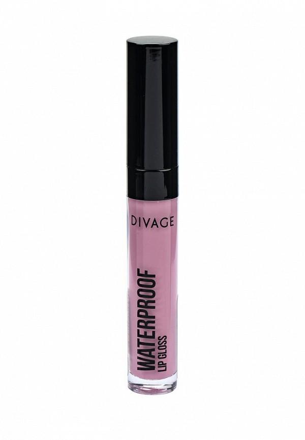Блеск Divage Для Губ Водостойкий Waterproof Lip Gloss № 01