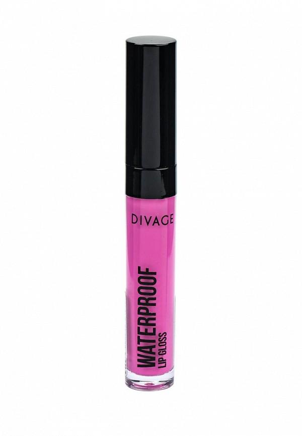 Блеск Divage Для Губ Водостойкий Waterproof Lip Gloss № 04