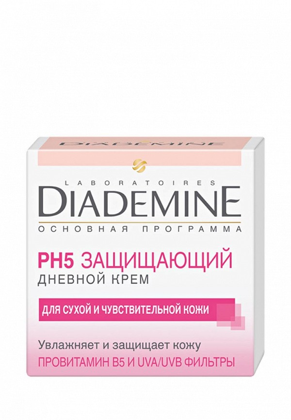 Крем для лица Diademine Дневной Защита и увлажнение Основная программа, 50 мл