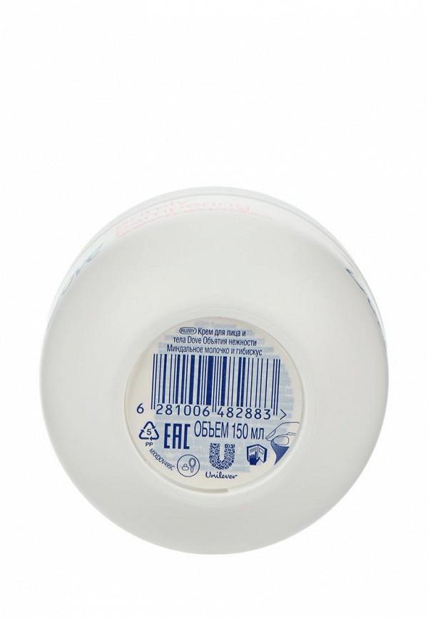 Крем для тела Dove Объятия нежности Миндальное молочко и гибискус, 150 мл