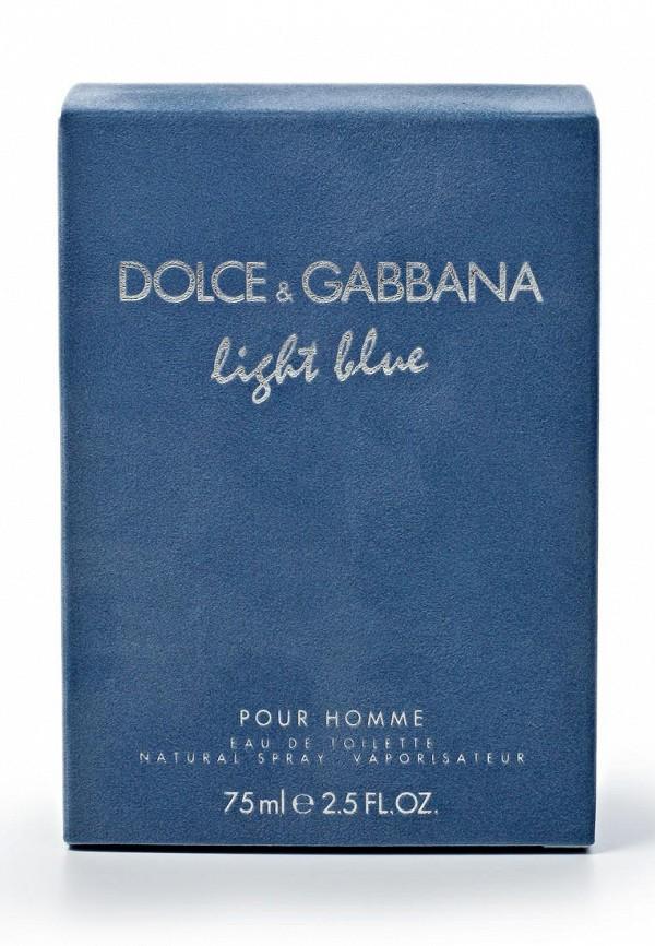 Туалетная вода DolceGabbana Light blue pour homme 75 мл