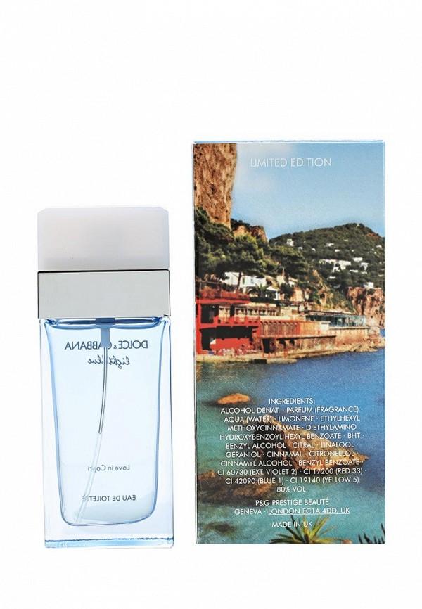 Туалетная вода DolceGabbana Light Blue Love In Capri 25 мл