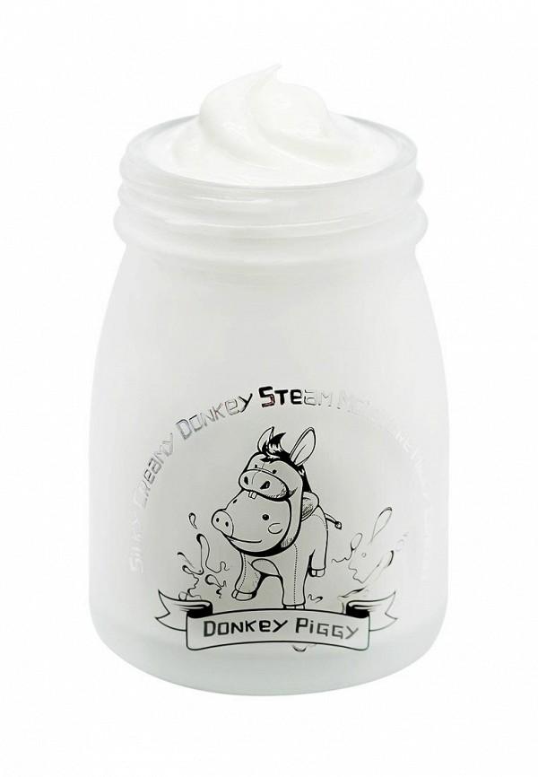 Маска Elizavecca DONKEY STEAM Кремовая для лица на основе ослиного молока, 25мл